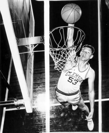 Clemson College basketball. (Baltimore Sun file)