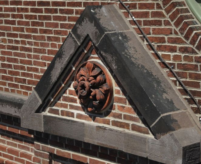 Architectural flourishes have been restored at the American Brewery. (Jed Kirschbaum/Baltimore Sun)