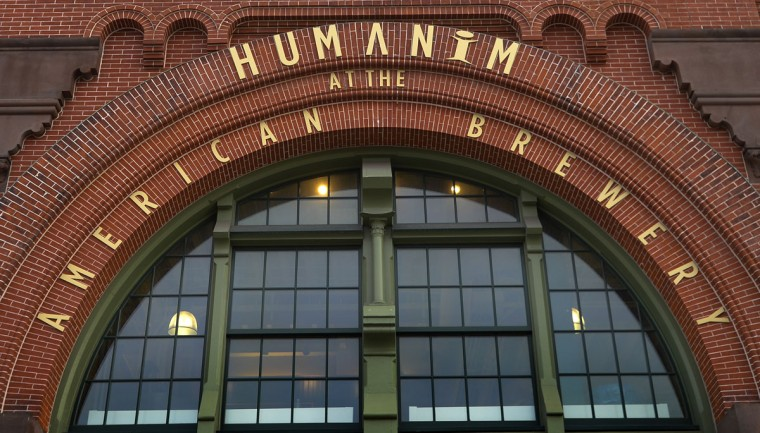 Located in the historic American Brewery Building, Humanim Inc. is one of The Baltimore Sun's 100 Top Workplaces for 2013. They are the No. 9 largest workplace. Humanim specializes in human and social services. (Photo by Doug Kapustin for The Baltimore Sun)