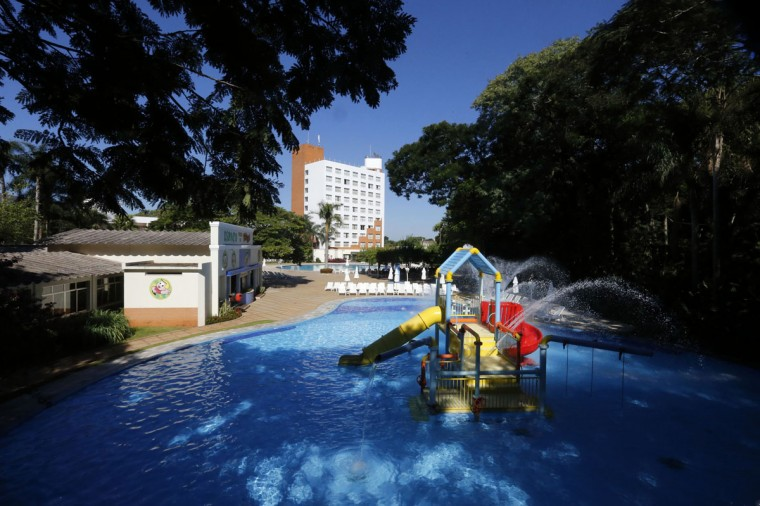 A view of the Bourbon Hotel, where South Korea's national soccer team will be based during the 2014 World Cup, in Foz do Iguacu, on Brazil's southern border with Paraguay. (REUTERS/Jorge Adorno)