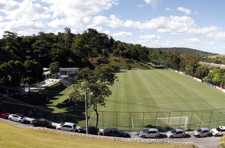 An overview of the Atletico Mineiro Training Center, where the Argentine national soccer team will be based at during the 2014 World Cup. (REUTERS/Washington Alves)