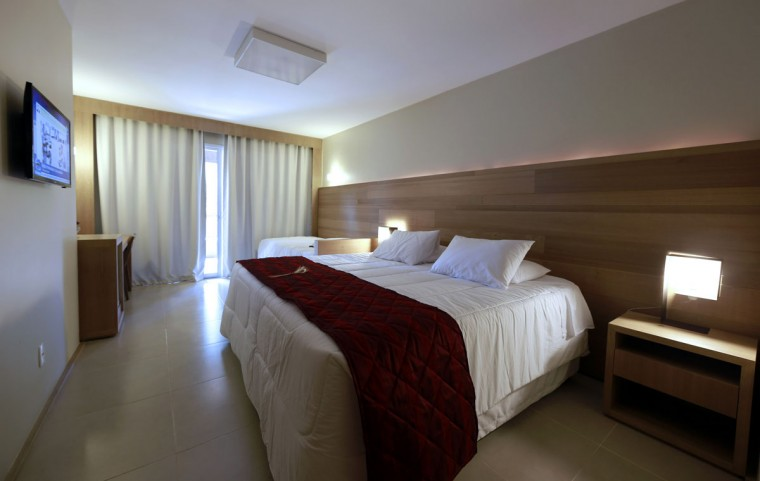 A room at the Vila Ventura hotel, where the Ecuador soccer team will be staying during the 2014 World Cup, is pictured in Viamao, Rio Grande do Sul. (REUTERS/Edison Vara)