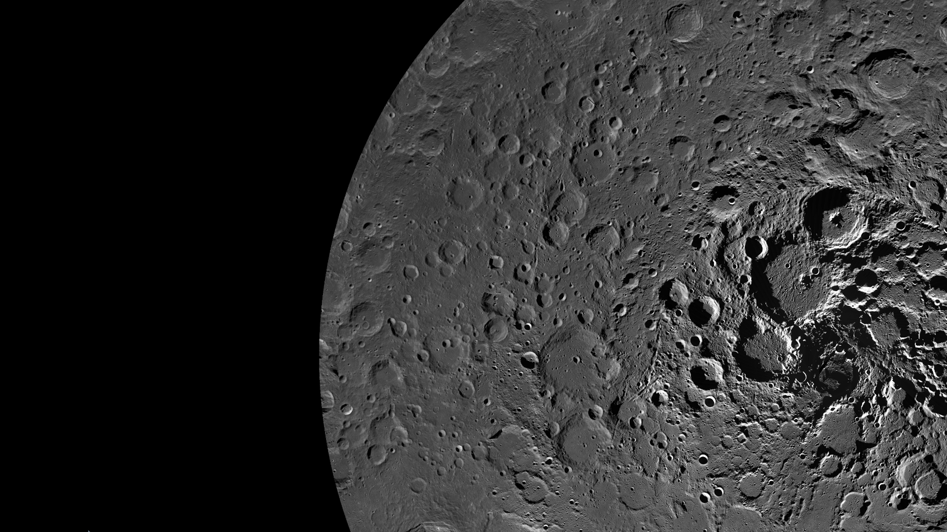 Exploring the moon: NASA's first interactive look at the lunar north pole