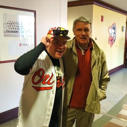 Met the legendary Gary Williams. (@wheelsee)