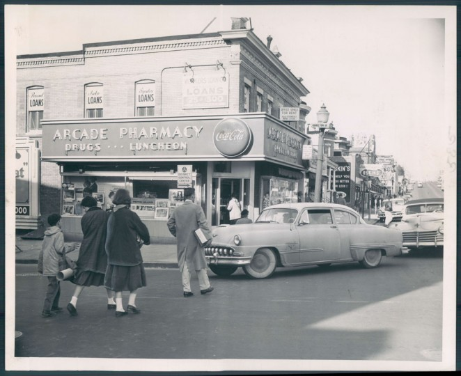 Scenes of Hamilton in Baltimore, March 5, 1957. (Frank Gardina/Baltimore Sun file)Scenes of Hamilton in Baltimore, March 5, 1957. (Frank Gardina/Baltimore Sun file)