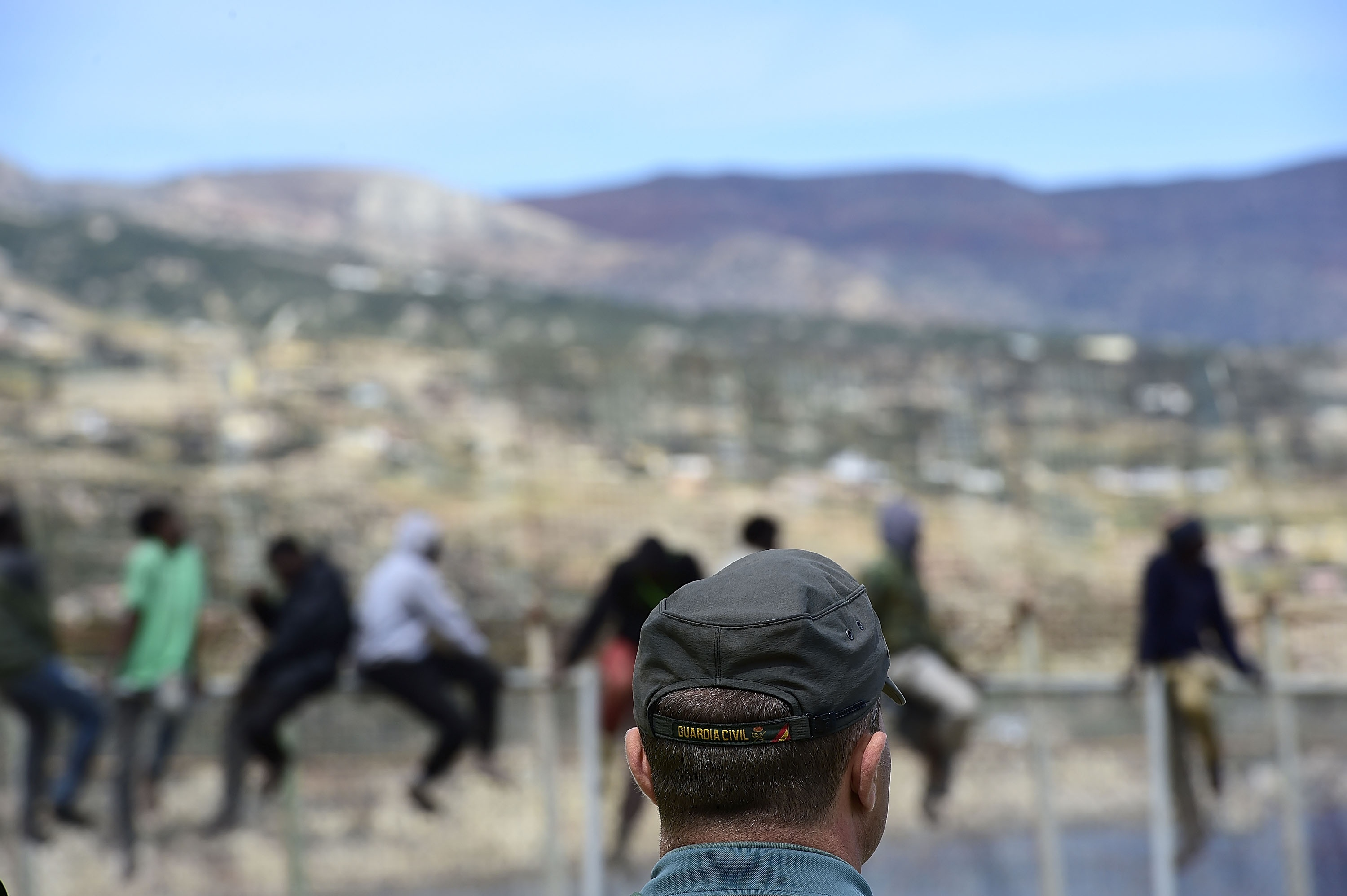 Dozens make a desperate border gamble in Melilla