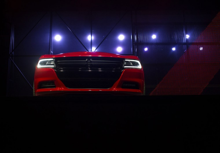 The 2015 Dodge Charger is unveiled during a media preview of the 2014 New York International Auto Show in New York. The show opens with a sneak preview to the public April 18th and runs through April 27th. (Photo by Eric Thayer/Getty Images)