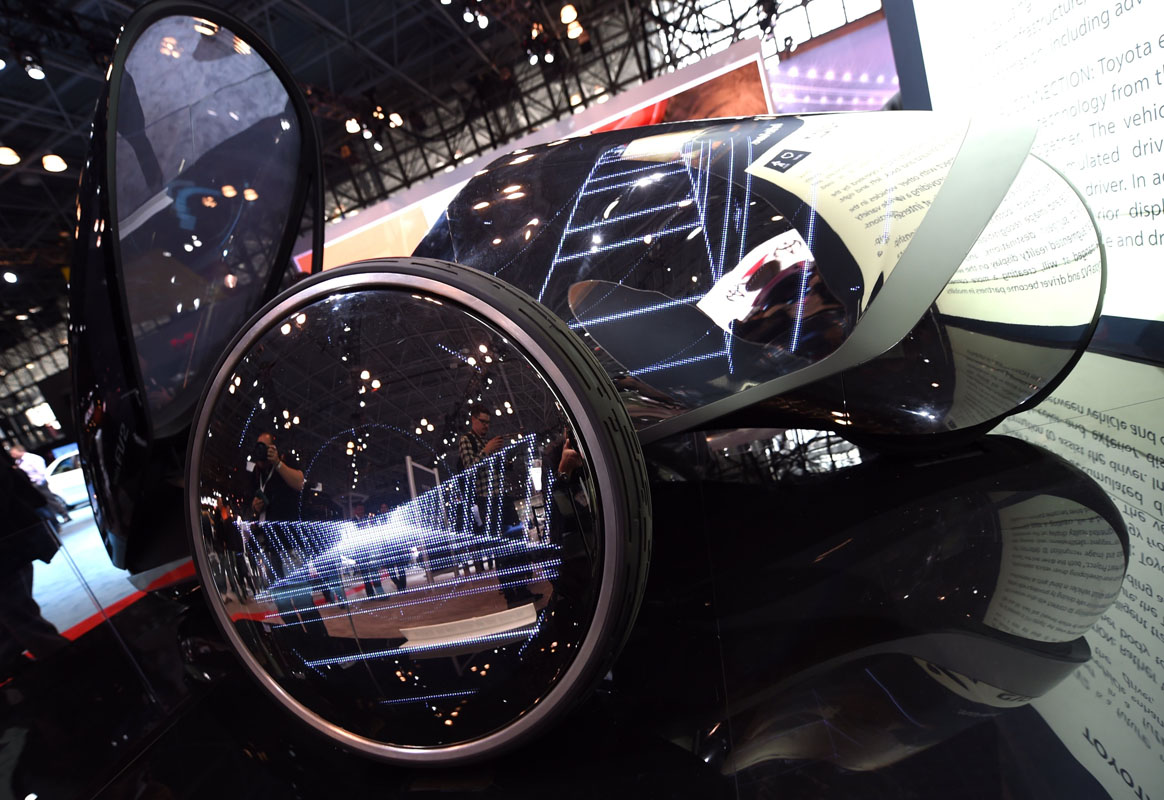 Camry Outback And More Innovations From The New York Auto Show - Nyc car show javits center