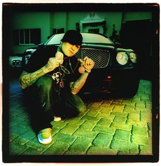 Benji Madden of Good Charlotte, 2006, in Burbank, Calif., for