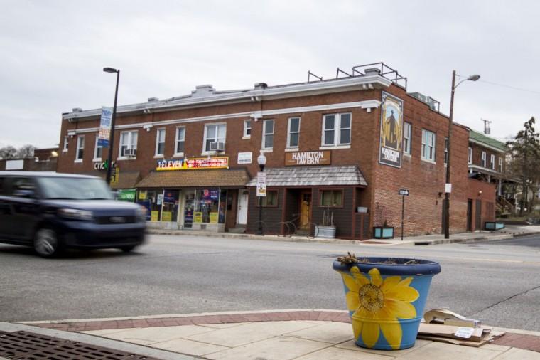Hamilton Tavern along Harford Road in Hamilton-Lauraville. (Kalani Gordon/Baltimore Sun/2014)
