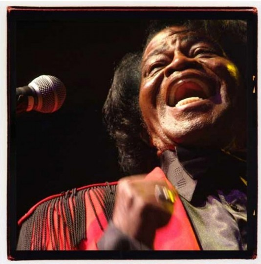 James Brown, 2006. (Photo by Sam Holden)