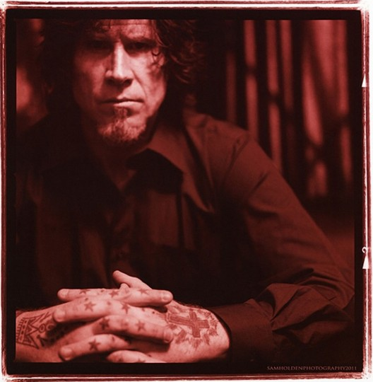 Mark Lanegan, 2011, Burbank, Calif. (Photo by Sam Holden)