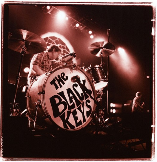 Patrick Carney of The Black Keys, 2009, Baltimore. (Photo by Sam Holden)
