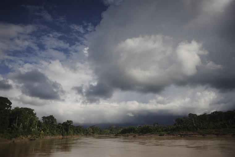 A view of the Envira river in Huni Kui territory in Brazil's northwestern Acre state. (REUTERS/Lunae Parracho)