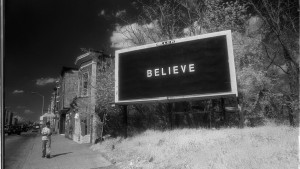 Believe billboards