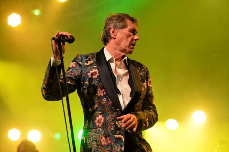Singer Bryan Ferry performs onstage during day 1 of the 2014 Coachella Valley Music & Arts Festival at the Empire Polo Club on April 18, 2014 in Indio, California (Photo by Kevin Winter/Getty Images for Coachella)