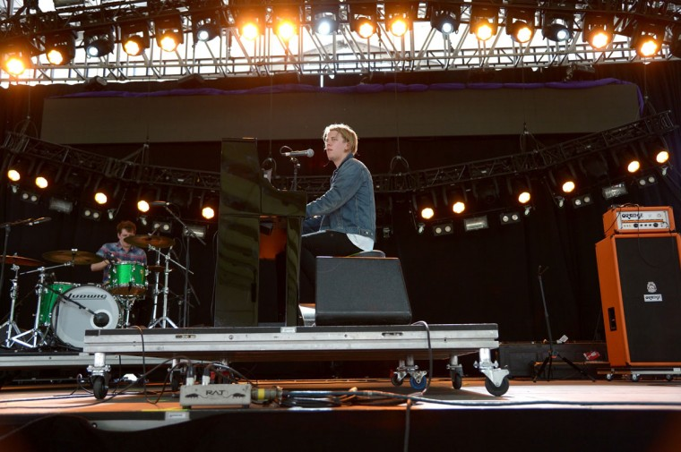 Musician Tom Odell performs onstage during day 1 of the 2014 Coachella Valley Music & Arts Festival at the Empire Polo Club on April 11, 2014 in Indio, California. (Photo by Jason Kempin/Getty Images for Coachella)