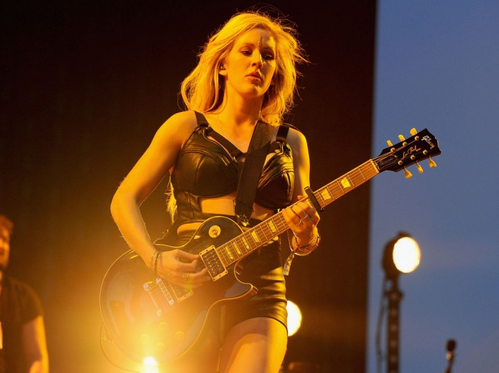 Musician Ellie Goulding performs onstage during day 1 of the 2014 Coachella Valley Music & Arts Festival at the Empire Polo Club on April 11, 2014 in Indio, California. (Photo by Kevin Winter/Getty Images for Coachella)