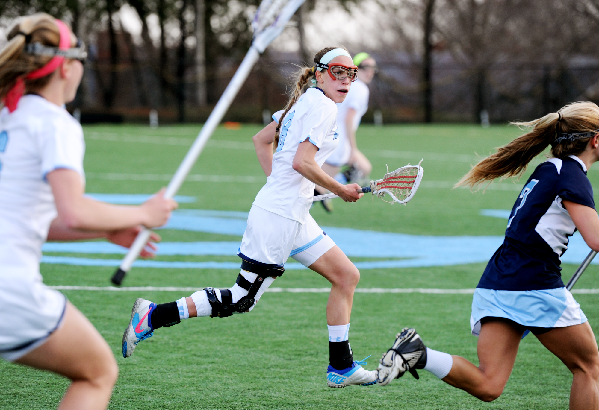 Mount de Sales senior finally back on lacrosse field after two ACL tears