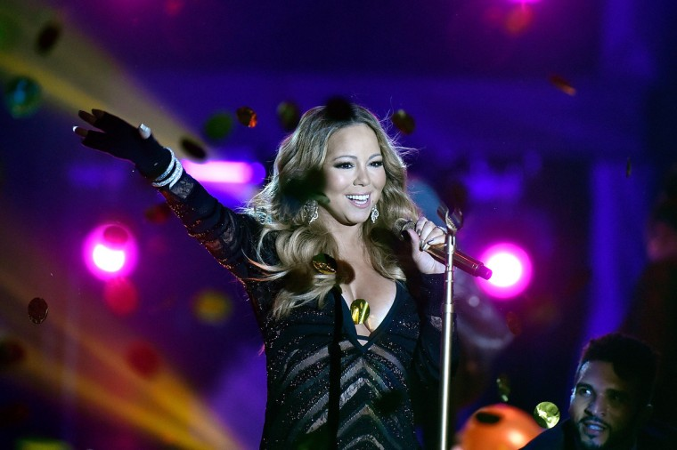 Mariah Carey performs during the ceremony of World Music Awards at Sporting Monte-Carlo in Monte-Carlo, Monaco. (Pascal Le Segretain/Getty Images)