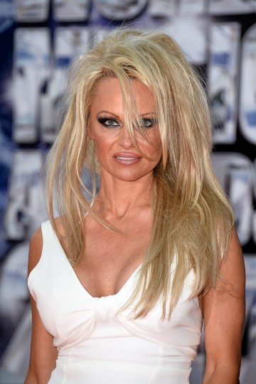 Actress Pamela Anderson arrives at the World Music Awards at Sporting Monte-Carlo in Monte-Carlo, Monaco. (Pascal Le Segretain/Getty Images)