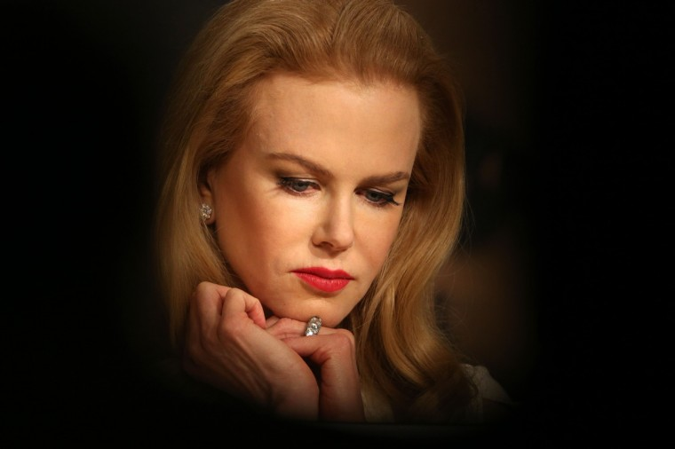 "Australian actress Nicole Kidman attends a press conference for the film ""Grace of Monaco"" at the 67th edition of the Cannes Film Festival in Cannes, southern France. (Loic Venance/Getty Images)"