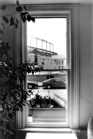 A view of Camden Yards in 1992 from Ridgely's Delight. (Baltimore Sun file)