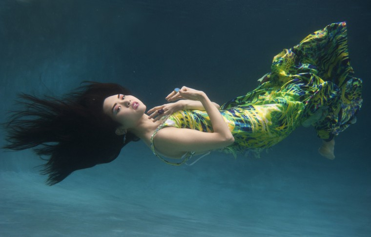 Lloyd Fox's underwater fashion shoot for Sun Magazine. MORE: Behind-the-scenes video of how photographer Lloyd Fox captured the images.