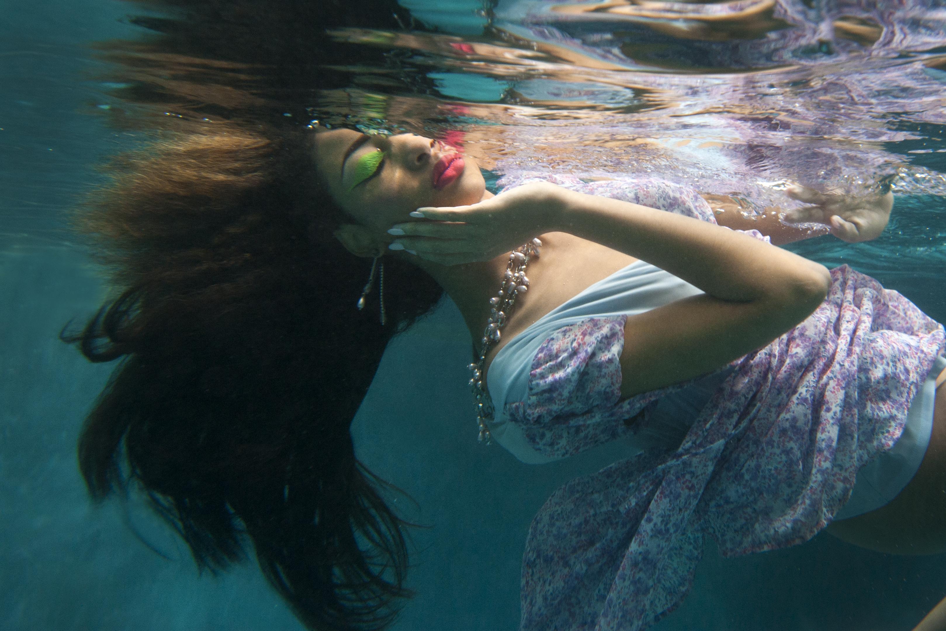 Underwater Fashion Photoshoot Lloyd Fox's Underwater Fashion