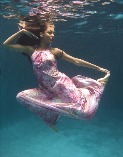 Imbue gown, $198, Imbue. MORE: Behind-the-scenes video of how photographer Lloyd Fox captured the images.