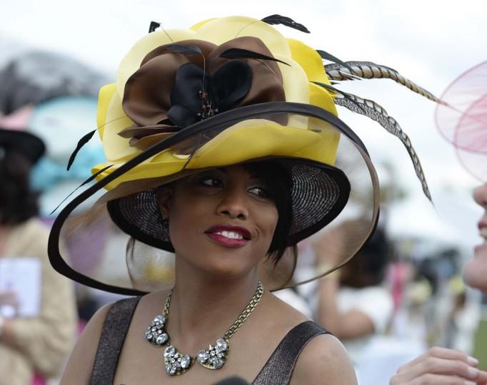 Baltimore Mayor Stephanie Rawlings-Blake. 139th Preakness Stakes at Pimlico Race Course. (Lloyd Fox/Baltimore Sun)