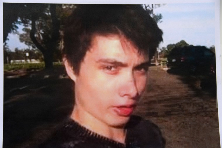 An undated photo of murder suspect Elliot Rodger is seen at a press conference by the Santa Barbara County Sheriff in Goleta, California May 24, 2014. Rodger, 22, went on a rampage in Isla Vista near the University of California at Santa Barbara campus, stabbed three people to death at his apartment before shooting to death three more in a terrorizing crime spree through the neighborhood.