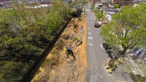 Baltimore landslide