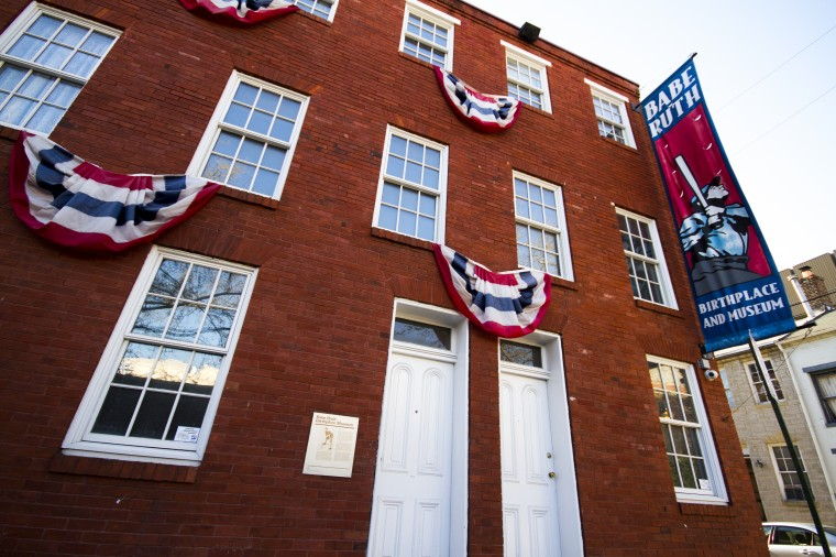The Babe Ruth Birthplace and Museum at 216 Emory St., Baltimore. (Kalani Gordon/Baltimore Sun)