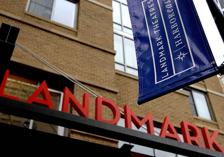 The new Landmark movie theater in Harbor East in 2007. (Sun photo by Monica Lopossay)
