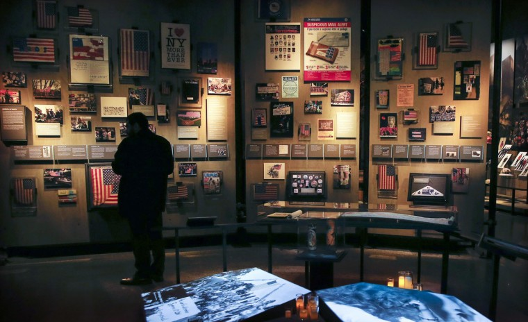 The historical exhibition section inside the National September 11 Memorial & Museum is seen during a press preview in New York May 14, 2014. (Shannon Stapleton/Reuters)