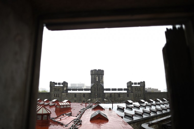 The Eastern State Penitentiary gatehouse as viewed from the second level, in Philadelphia. (REUTERS/Mark Makela)