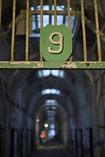 The entrance to block 9 is seen at the now-closed Eastern State Penitentiary in Philadelphia. (REUTERS/Mark Makela)