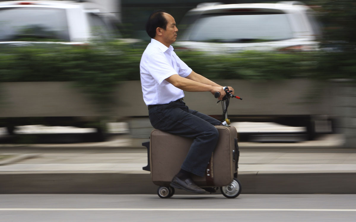 Home-made inventions from China