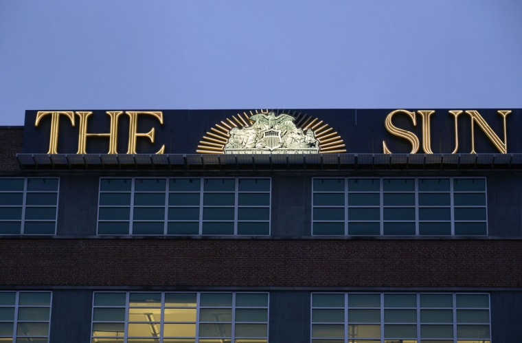 Of course, no gallery of visible landmark city signs would be complete without a shot of The Baltimore Sun building. (Karl Merton Ferron/Baltimore Sun)