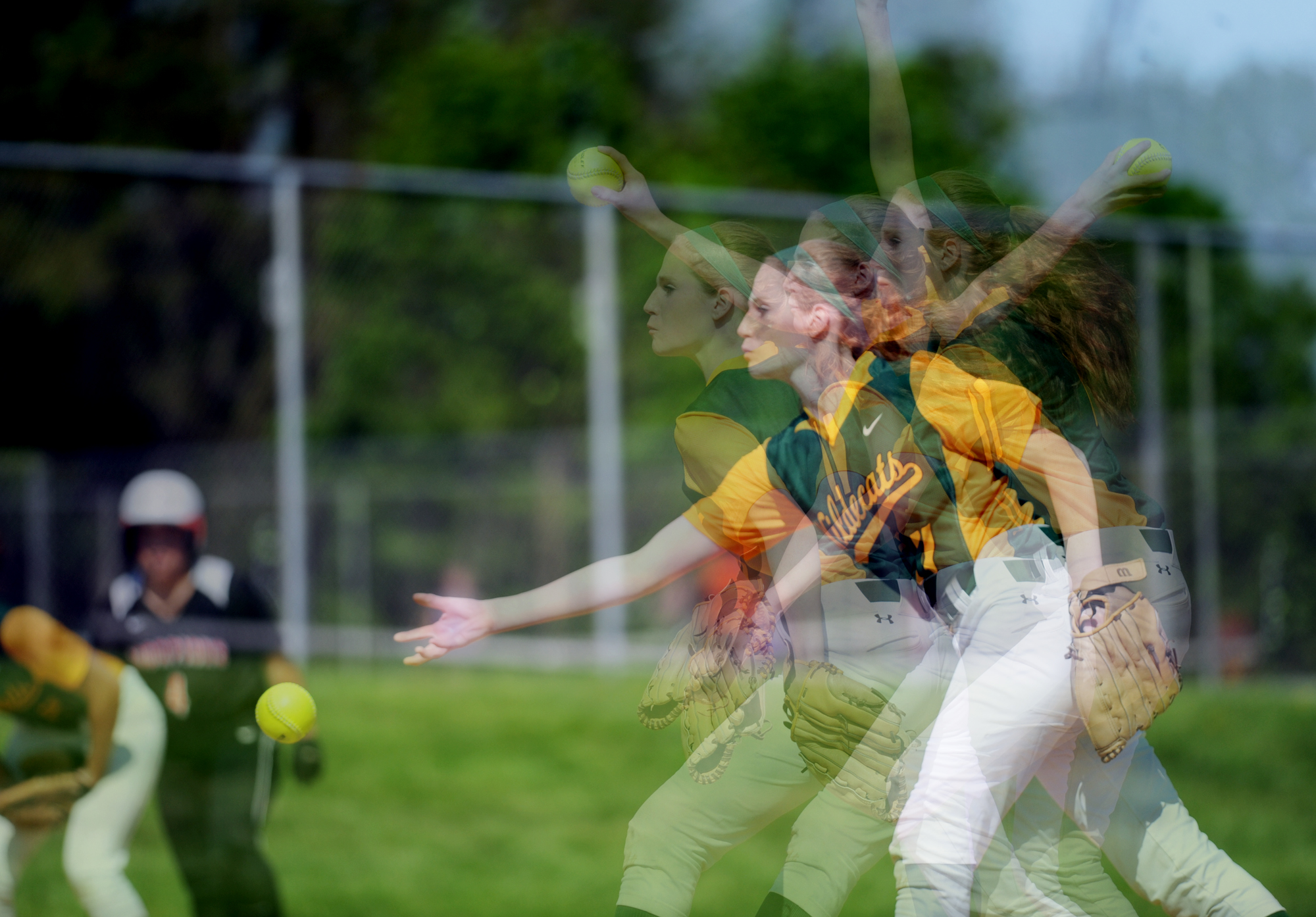 Wilde Lake vs. Oakland Mills softball photo compilations
