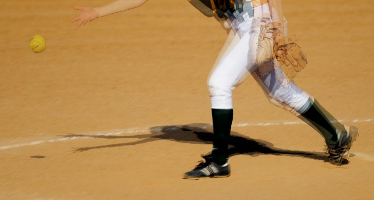 Wilde Lake pitcher Sydney McNamara (Jon Sham/BSMG)