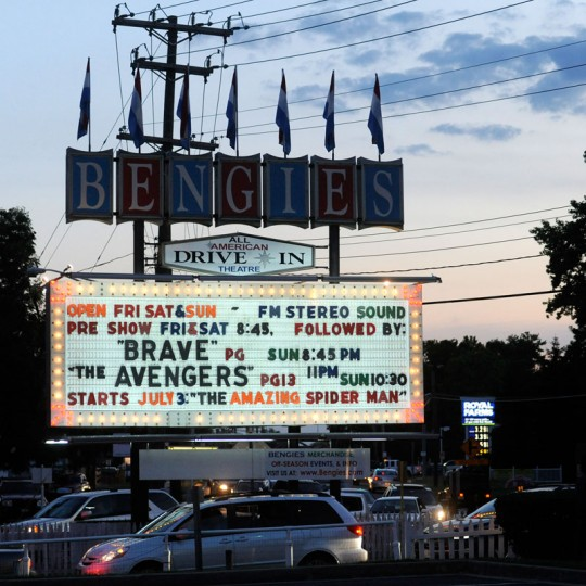 No, it's not in Baltimore-proper, but look at that sign! (Photo by Steve Ruark for The Baltimore Sun)