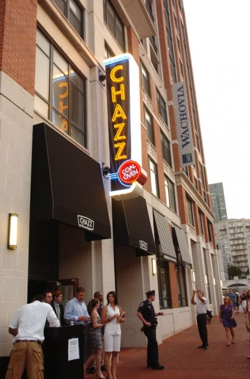 Chazz at Harbor East hosts a private opening party in 2011. (Photo by Karen Jackson, special to The Sun)