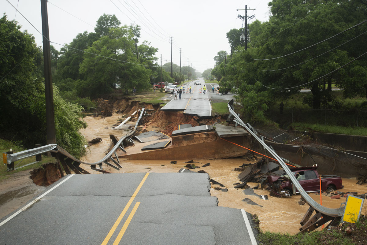 Major flooding hits Florida Panhandle, coastal Alabama