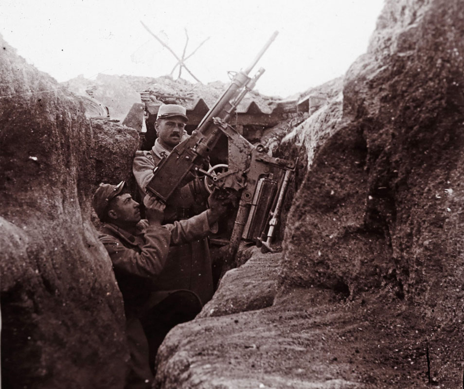 WWI: Unseen images from the front