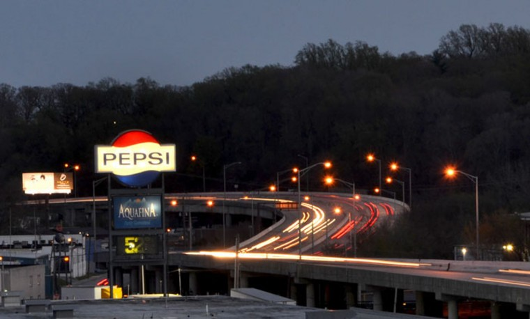 The Pepsi plant with a view of I-83. (Sun photo by Steve Earley)