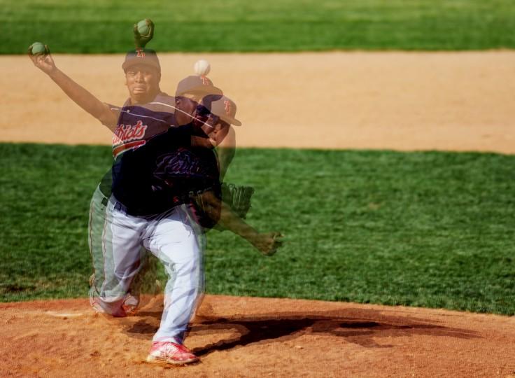 Governor Thomas Johnson pitcher Vaughn Parker (Jon Sham/BSMG)