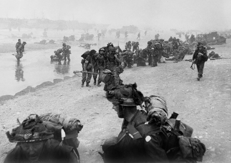 On D-Day, American troops landed on Normandy beaches (north-west of France), to come as reinforcements during the historic WWII offensive. (AFP/Getty Images)