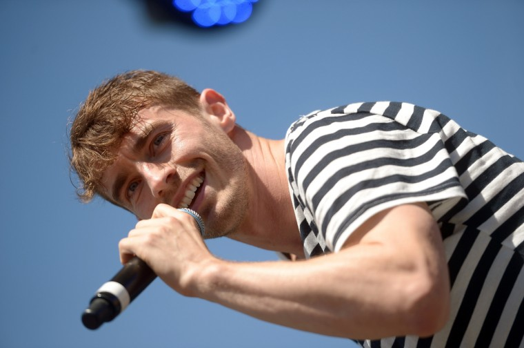 David Boyd of New Politics performs onstage during day 2 of the Firefly Music Festival on June 20, 2014 in Dover, Delaware. (Michael Loccisano/Getty Images)